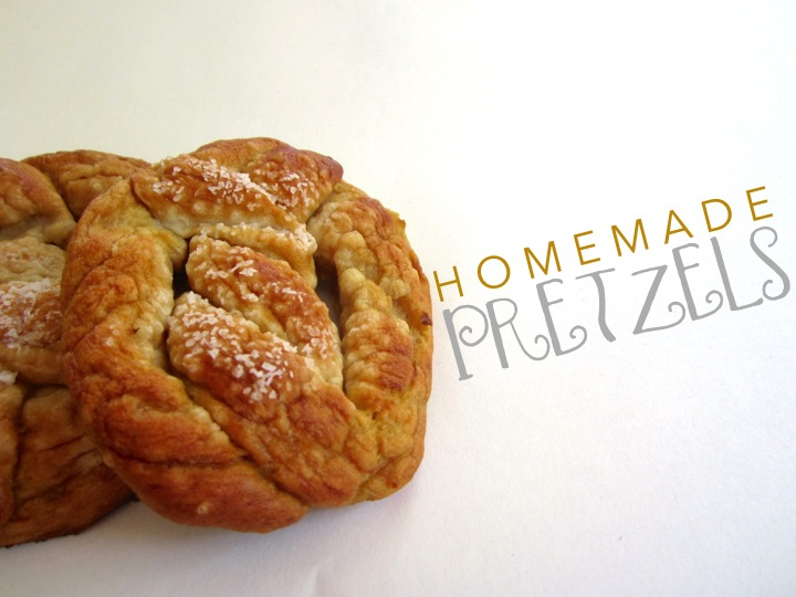 Homemade-Pretzels