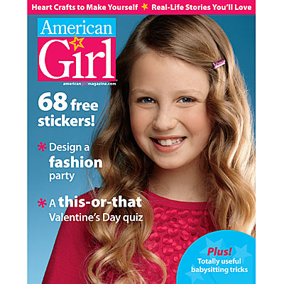 January February Issue American Girl