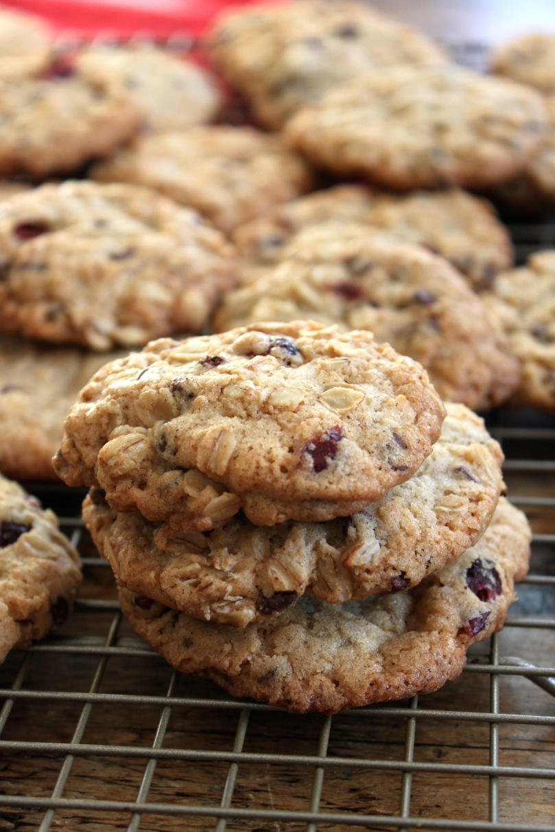 Oatmeal Chocolate Craisin Cookies