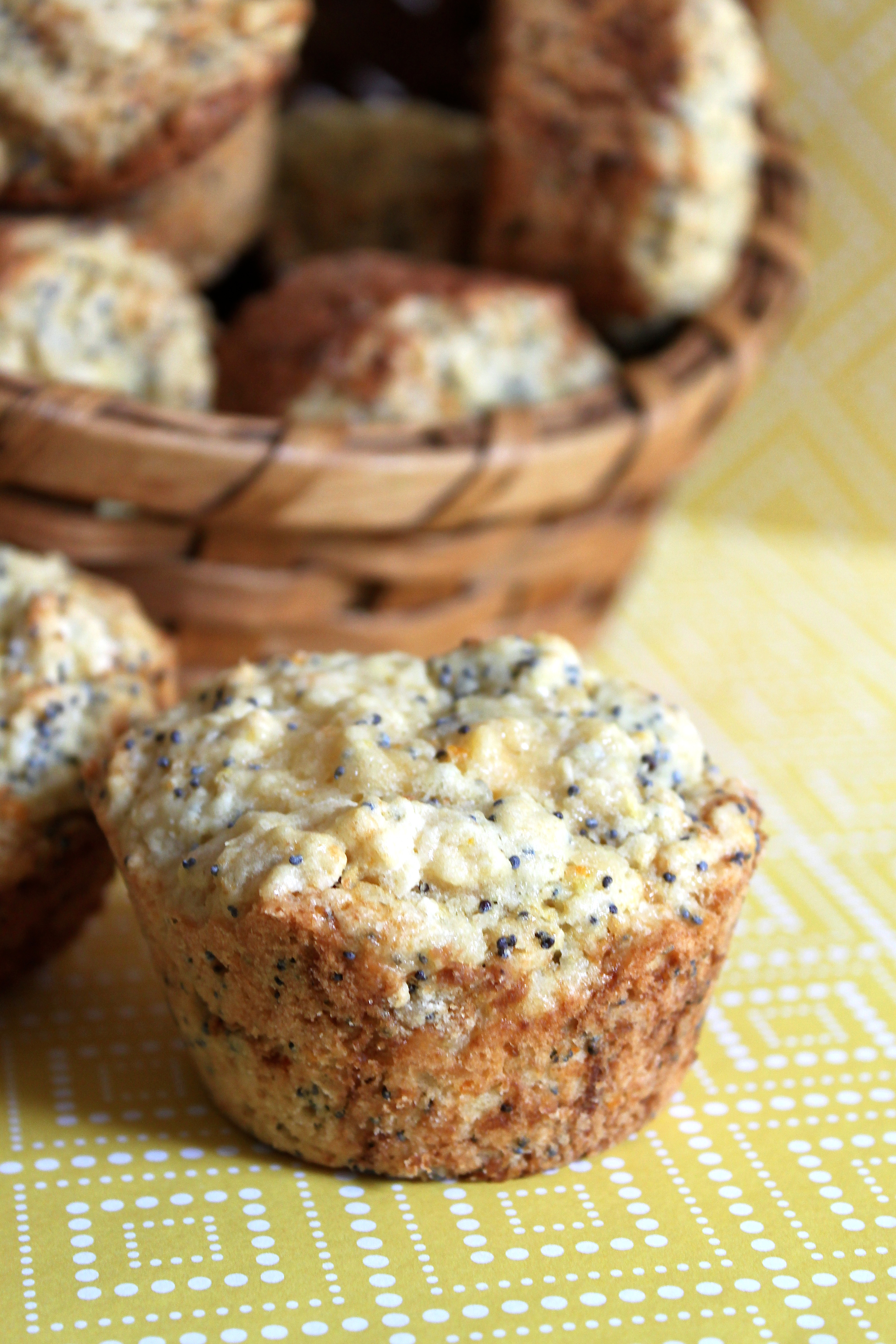 Citrus Poppy Seed Muffins | Ciao Bella!