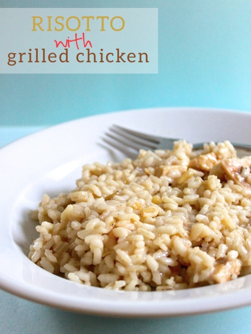 Risotto with Grilled Chicken
