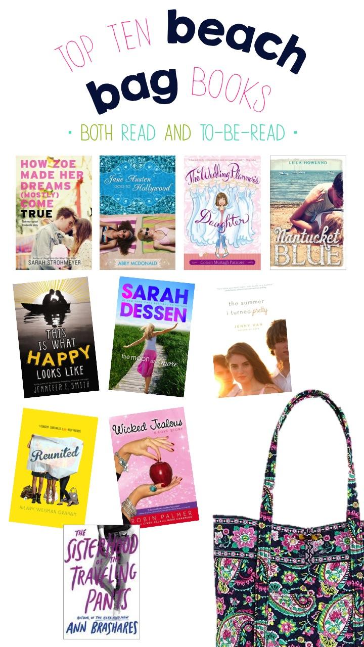 My Top Ten Beach Bag Books
