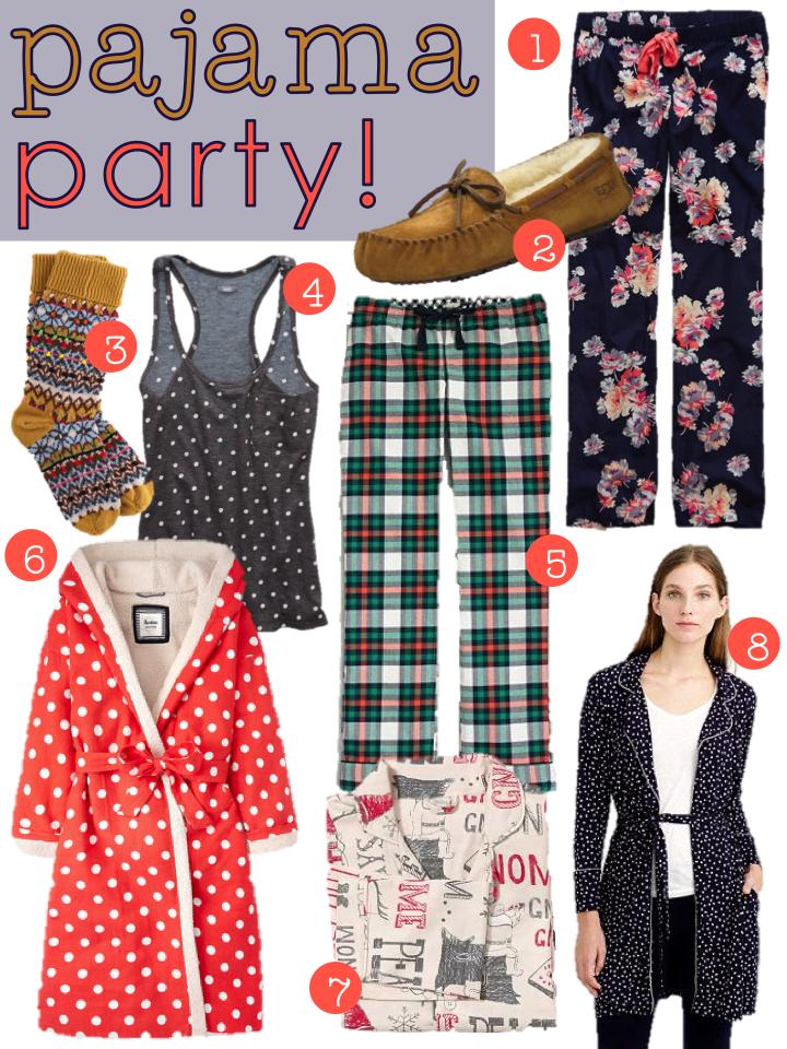 Pajama Party Style Snapshot
