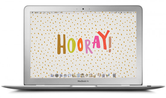 Hooray Desktop Design