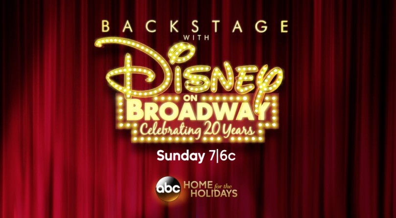 Backstage with Disney on Broadway