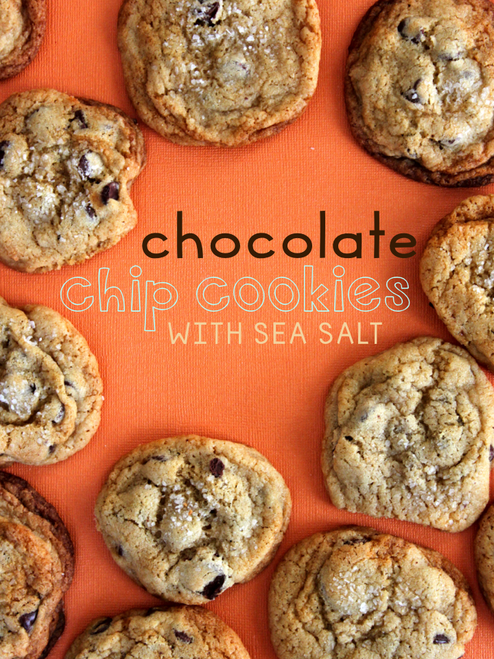 Chocolate Chip Cookies with Sea Salt