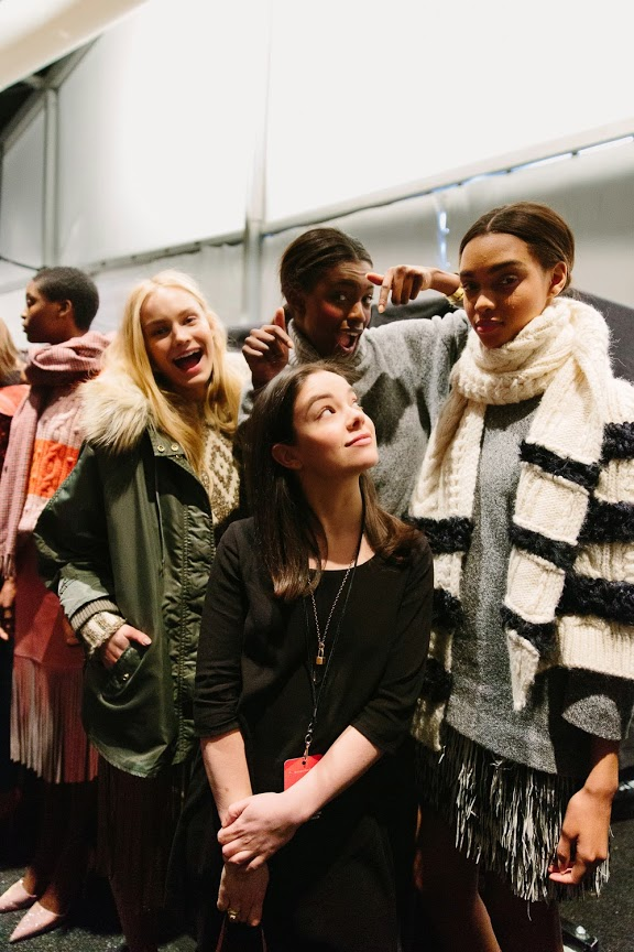 J Crew-Presentation Backstage-fashion-week-caroline-donofrio
