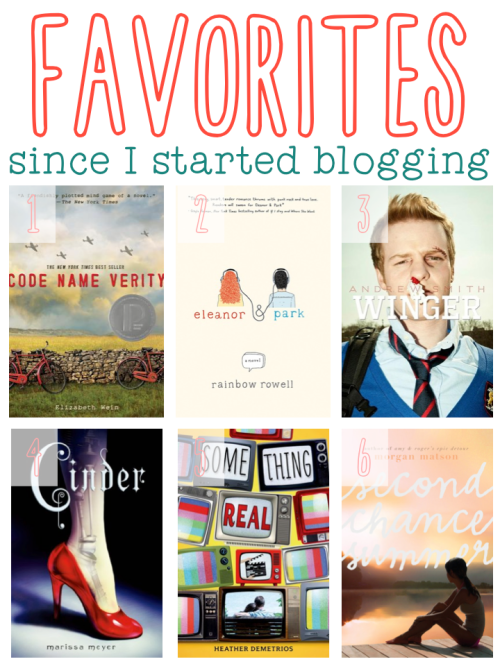 Favorite Reads Since Blogging