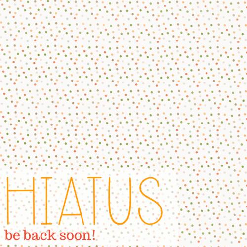 April 2015 Blogging Break