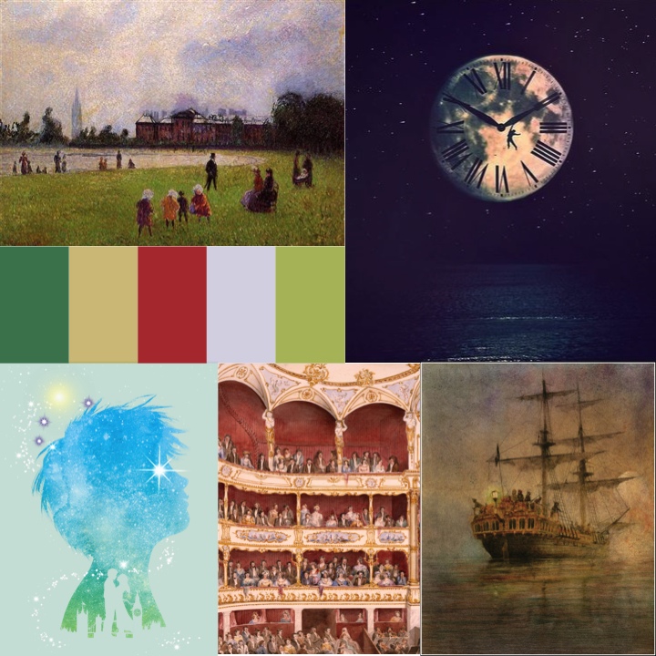 Finding Neverland Musical Moodboard