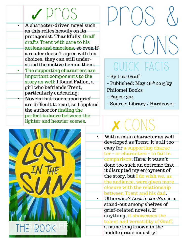 Lost in the Sun Pros and Cons