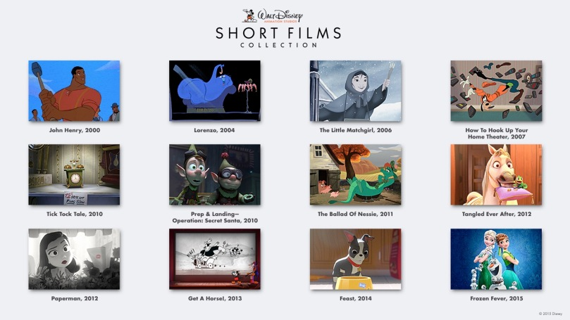 Disney Animation Short Films Collection