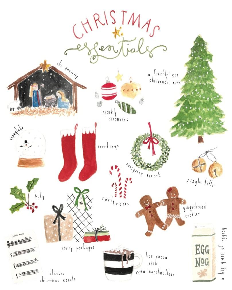 Christmas Essentials JPEG