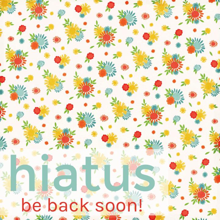 May Hiatus