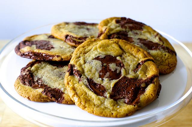 Monthly recap ciao bella for Smitten kitchen chocolate chip cookies