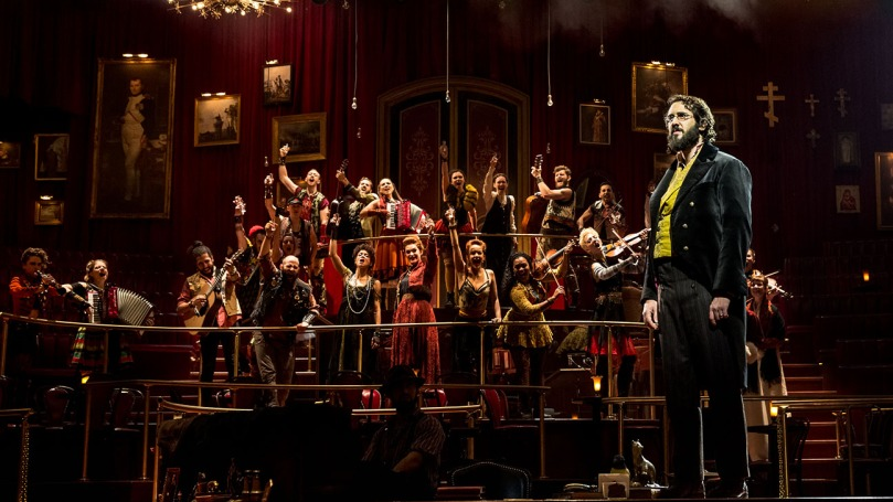 Natasha, Pierrem and The Great Comet of 1812